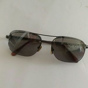 MEN'S MIRRORED AVIATOR SUNGLASSES